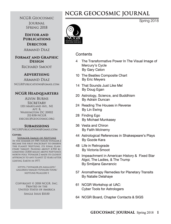 NCGR Research Journal - Winter 2018-19 - Preview.